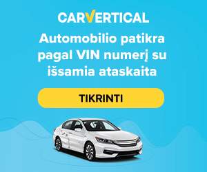 carvertical VIN patikra
